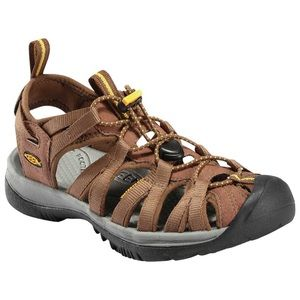 KEEN Whisper Sports Sandals Shoes Brown Size 10